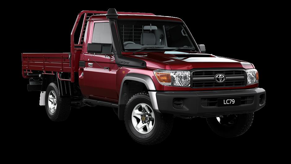 Toyota Land Cruiser Vdj 79 Single Cabin My17 Dazzle Uae